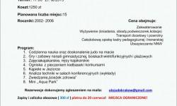 Obóz letni 2015 w Jastrowie