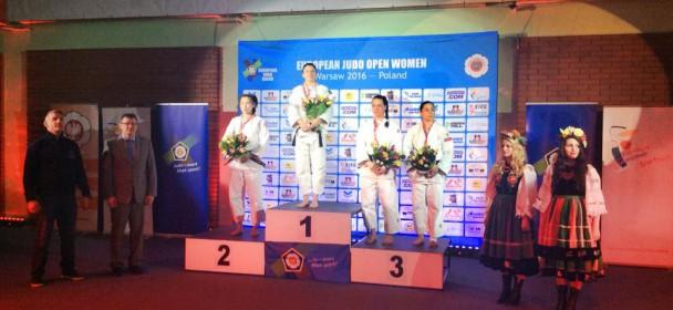 Złoto Kasi na Judo Warsaw Open!
