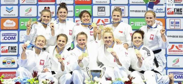 Polskie judoczki i polscy judocy z medalami ME!!!